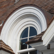Curved Roof Dormer, Window and Trim - Manchester MA