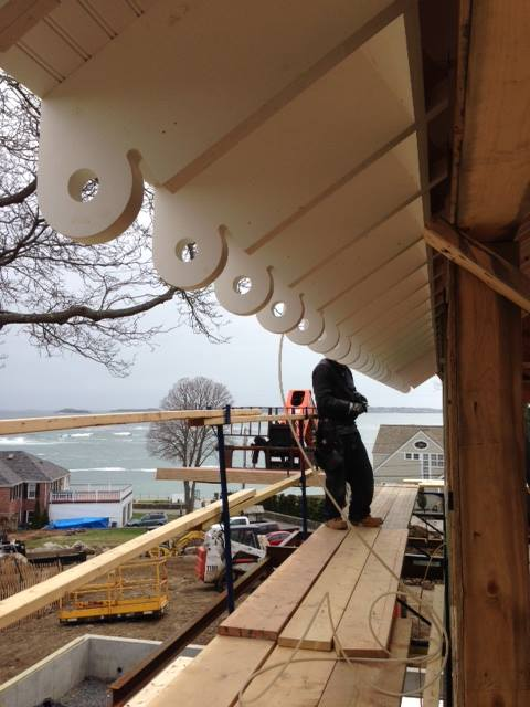 Exposed Rafter Tails / Custom PVC - Swampscott MA